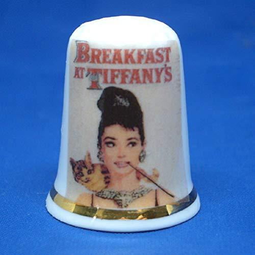 Birchcroft Porzellan-Fingerhut Frühstück bei Tiffanys Filmposter Box