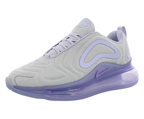 Nike W Air Max 720, Chaussures d'Athlétisme Femme, Multicolore-Platine, Violet (Pure Platinum/Oxygen Purple 000), 37.5 EU