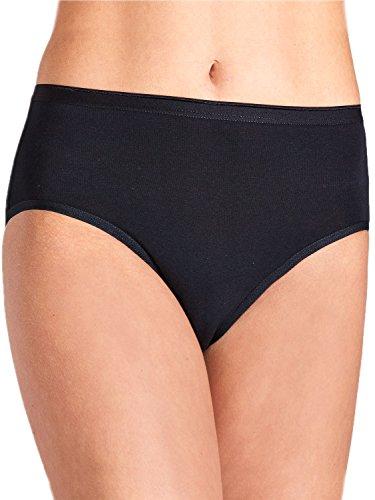 Pompadour Damen Taillenslip 5er Pack Größe 46, Farbe schwarz