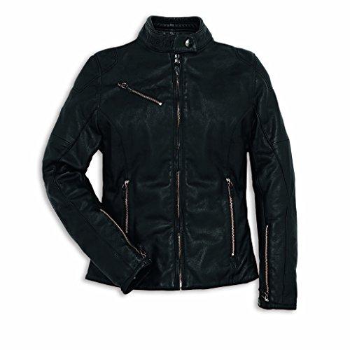 Ducati Downtown C2 Lederjacke Damen schwarz Größe 42