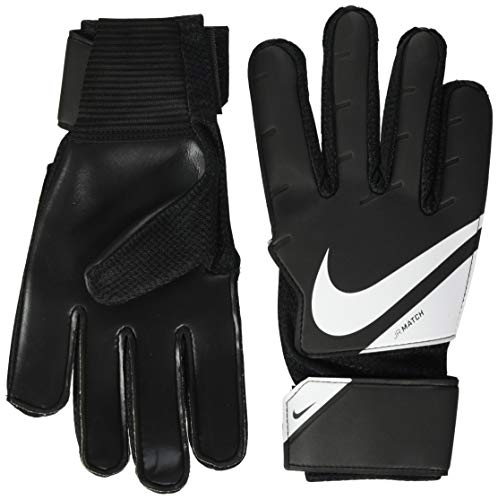 Nike NK GK MATCH JR - FA20 Guanti Da Calcio, Unisex bambini, black/white/(white), 5