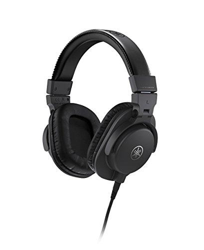 Yamaha HPH-MT5 Cuffie da Studio Over Ear, Cuffie Monitor Pieghevoli, con Cavo da 3 m e Jack Adattatore Stereo Standard da 6.3 mm, Nero
