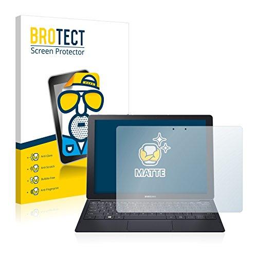 BROTECT 2X Entspiegelungs-Schutzfolie kompatibel mit Samsung Galaxy Tab Pro S 12.0 Displayschutz-Folie Matt, Anti-Reflex, Anti-Fingerprint