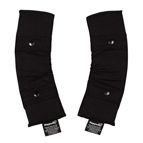 Hoppediz Schulter Pad für Babytrage Primeo, schwarz