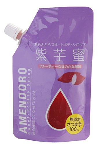 唐芋農場 あめんどろ スイートポテトシロップ 紫芋蜜 150g