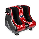 JSB HF51 Neo Shiatsu Leg Foot and Calf Massager Machine for Pain Relief With Heat & Foot Rollers