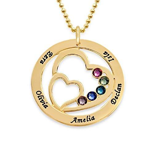 Personalized Swarovski Heart Pendant