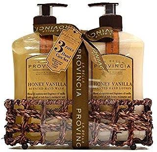 La Bella Provincia Hand Wash and Lotion Caddy (Honey Vanilla)