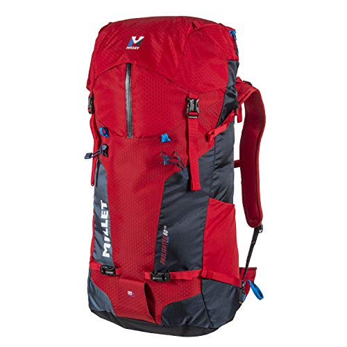 MILLET PROLIGHTER 60+20, Mochila Unisex Adultos, Multicolor (Rouge/Indian), 25x56x55 cm (W x H x L)