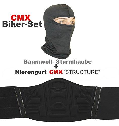CMX STRUCTURE Nierengurt Nierenwärmer + Sturmhaube Maske
