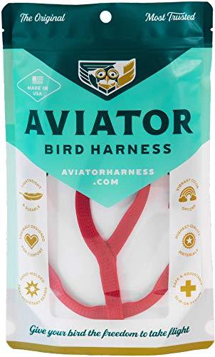 Le Aviator Oiseau Harnais: Small Rouge