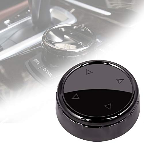 Multimedia Knopfabdeckung Idrive Knopf Abdeckung Auto Innendekoration, passend für 1 2 3 4 5 6 7 Serie X3 X4 X5 X6