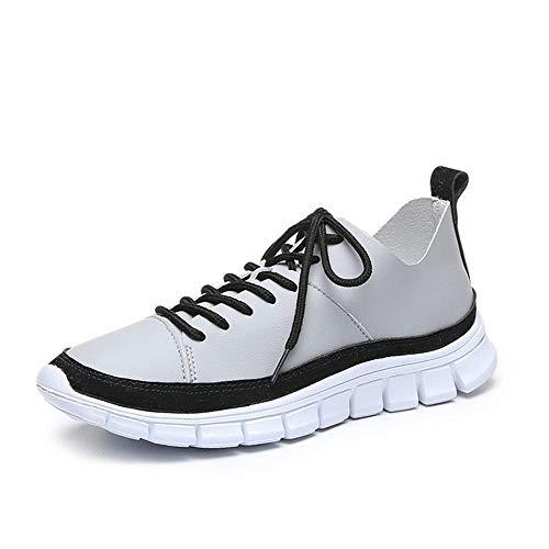 Hombres y Mujeres Aptos para Zapatillas de absorción de Impactos en Carretera Zapatillas de Deporte para Interiores y Exteriores para Caminar Trotar Zapatillas Deportivas al Aire Libre