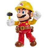 World of Nintendo 4' Maker Mario with Utility Belt Toy Figure