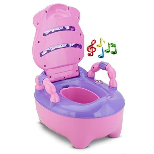 Troninho Infantil FazendinhaMusical Rosa - Prime Baby
