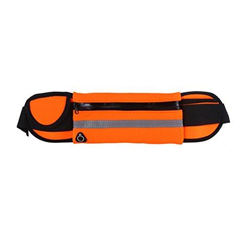 Fauhsto Outdoor Sport Running Waist Pack Bag Waterproof Bag Mobile Phone Holder Jogging Belt Belly Bag Women Gym Fitness Bag Lady Sport Accessories for iPhone 6s/7