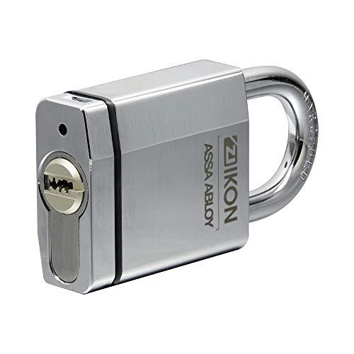IKON RW6 Vorhängeschloss inkl. 2 Schlüssel - lichte Bügelhöhe 25mm - mit Zwangsschließung