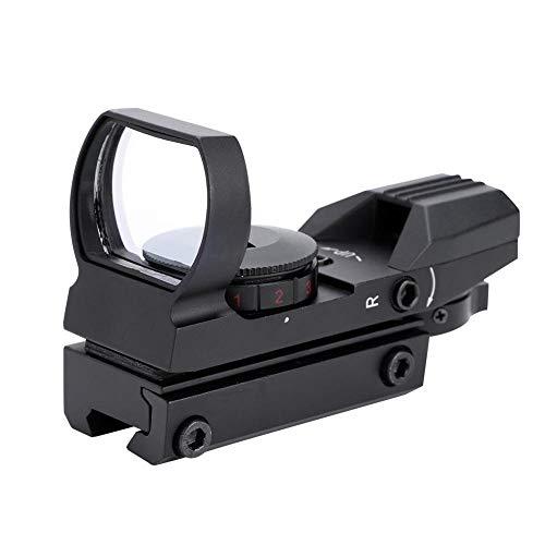 Elerose Red Dot Finderscope, telescopio reticular Finderscope Reflex Sight Scope Adecuado para 20 mm