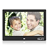 Digital Photo Frame 10 inch Ultra HD Display Picture Frame with Remote Control