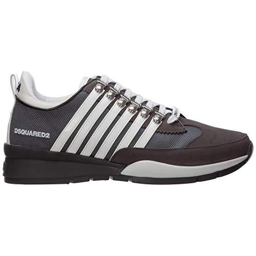 Dsquared2 Herren 251 Sneaker Grigio 41 EU