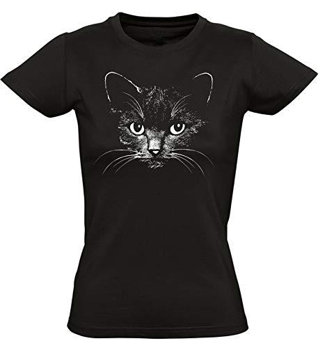 Camiseta: Gato - Cat T-Shirt - Entallado -...