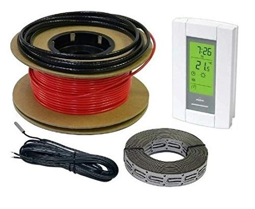 HeatTech 30 sqft Cable Set, Electric Radiant In-Floor Heat Heating...