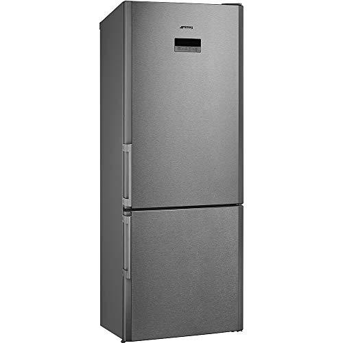 Smeg FC450X2PE nevera y congelador Independiente Acero inoxidable 454 L A++ - Frigorífico (454 L, SN-T, 6 kg/24h, A++, Compartimiento de zona fresca, Acero inoxidable)
