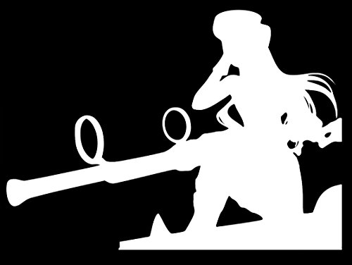UR Impressions Caitlyn The Piltover Sharpshooter League of Legends Inspired Decal Vinyl Sticker Graphics for Cars Trucks SUV Vans Walls Windows Laptop|White|5.5 X 4.3 inch|URI391