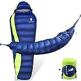 GEERTOP Ultralight Down Sleeping Bag Hammock 15 & 0 Celsius Degree Waterproof Mummy