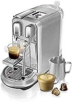 ماكينة صنع القهوة نسبريسو كريتيستا بلس بلون فضي، J520-ME-ME-NE