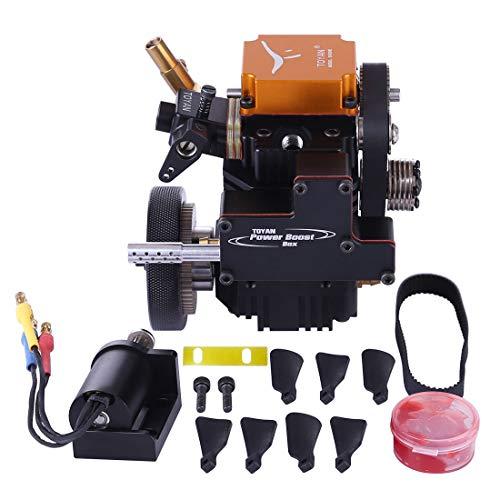 POXL 4 Stroke RC Engine Petrol Viertaktmotor Bausatz Toyan Engine für 1:10 1:12 1:14 RC Auto Boot Flugzeug - FS-S100G