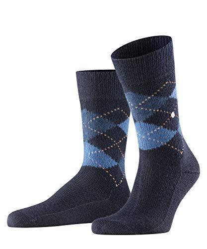 Burlington Herren Socken Preston, Polyamid, 1 Paar, Blau (Dark Navy 6375), 40-46 (UK 6.5-11 Ι US 7.5-12)