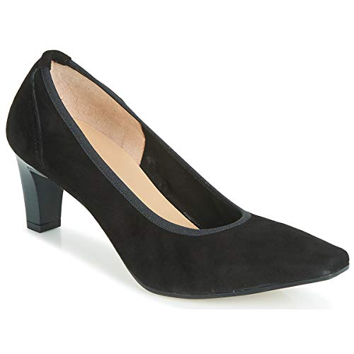 Perlato Morty Pumps Damen Schwarz - 38 1/2 - Pumps Shoes