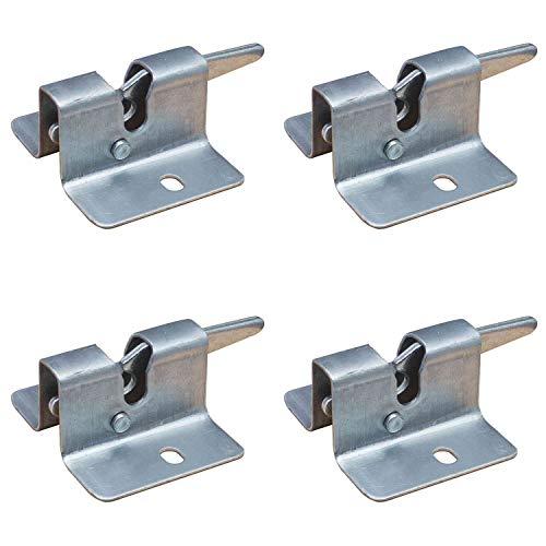Siena Garden Schnapper für Festzeltgarnituren, Metall (4 Stück)