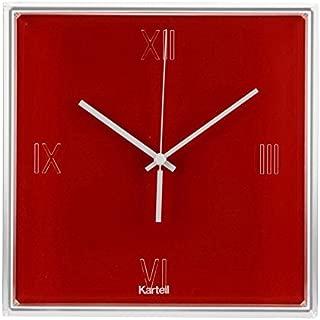 YierQing Horloge de Salon en Fer r/étro europ/éenne de Salon de Salle de Mur d/écorative dhorloge de Mur Simple cr/éatrice dhorloge Romaine 100CM diam/ètre