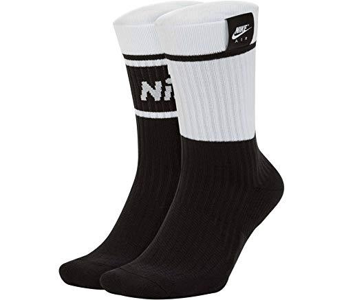 Nike Air SNKR Sox, Calzettoni Unisex Adulto, White, M