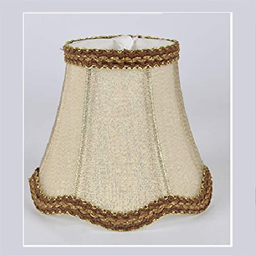 Lámpara de araña con forma de gota de onda, lámpara de techo, estilo europeo moderno, tela de tela para vela, bombilla de pared, lámpara de mesa (27 #)