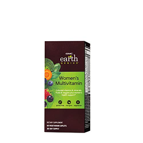 GNC Earth Genius Women's Multivitamin (60 Vegetarian Caplets)