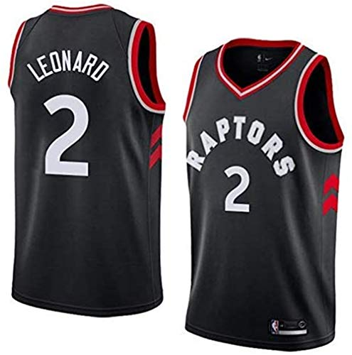 Dwin Herren Basketball Trikots - NBA Toronto Raptors # 2 Kawhi Leonard Swingman Jersey Ärmellos T-Shirt Mesh Sportweste Top