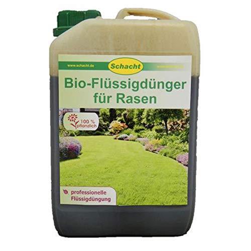 Schacht Bio-Flüssigdünger für Rasen, 2,5 Liter-Kanister