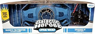 Star Wars Galactic Heroes Cinema Scene - Vader Tie Fighter Cinema Scene