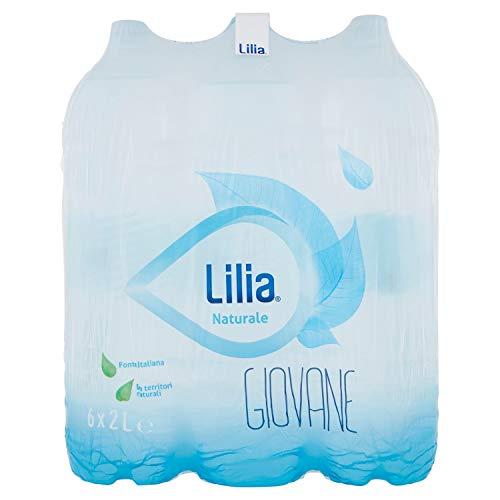 Lilia Acqua Minerale Naturale Oligominerale 2L (Confezione da 6)