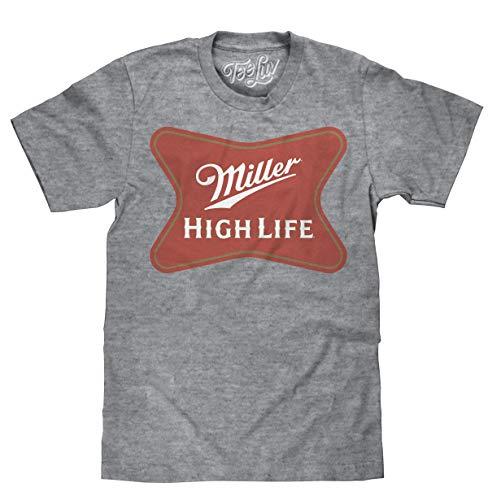 Miller High Life | Soft Touch Tee- XL,Grey