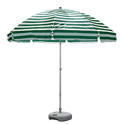 XDD Sun Shade Patio Hanging Umbrella Garden Beach Patio Parasol Multi Coloured Oxford Cloth Waterproof Sunscreen Material Size 2.5 * 2.3M (8.2 * 7.5FT)