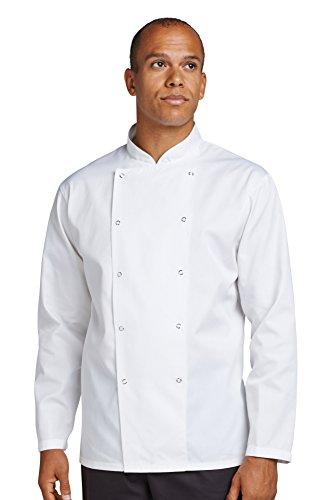 AFD Chefs Kit Jacke mit Druckknopf - Größen 2XS - 4XL - White - XL