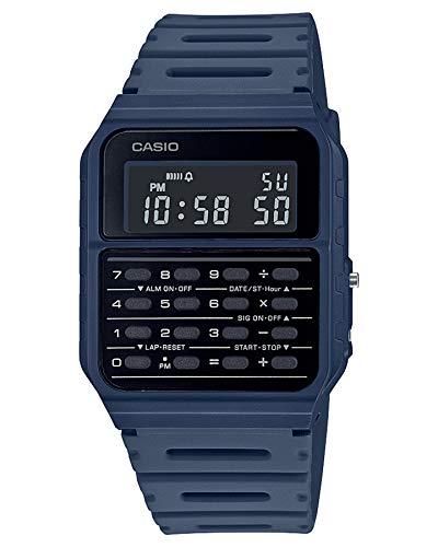 Casio CA-53WF-3B calculadora azul digital para hombre reloj original nuevo clásico CA-53
