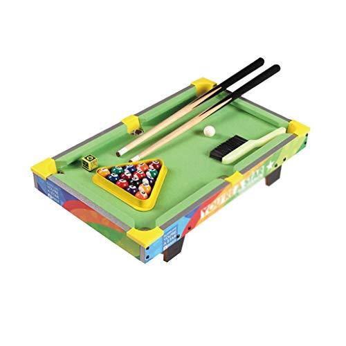 LCRACK Billardtisch Für Kinder Drinnen Und Draußen, Snooker Set Mit Bällen, Queues (Farbe : S)