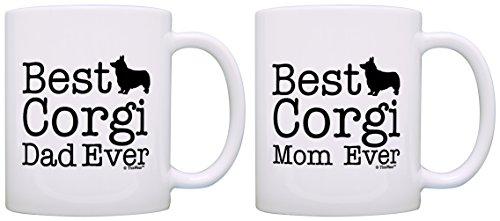 Best Corgi Mom and Dad Ever Coffee Mugs