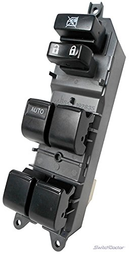 SWITCHDOCTOR Window Master Switch for 2006-2012 Toyota Rav4