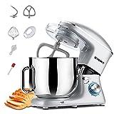 SVEWT Impastatrice Planetaria Cucina, 660W 8 Litri Robot Impastatrice Pane Professionale con Ciotola...